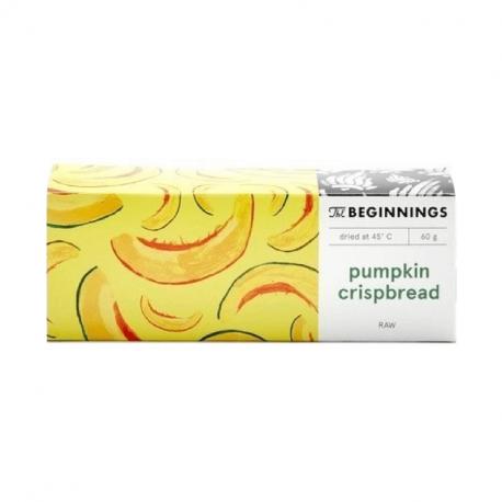 The Beginnings - pumpkin crispbread 60g