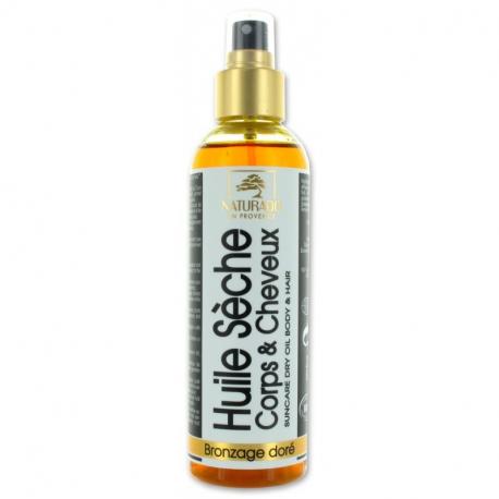 Golden tanning droge olie 200ml