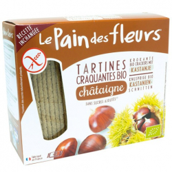 PAIN DES FLEURS - Organische beschuit met kastanje 150g