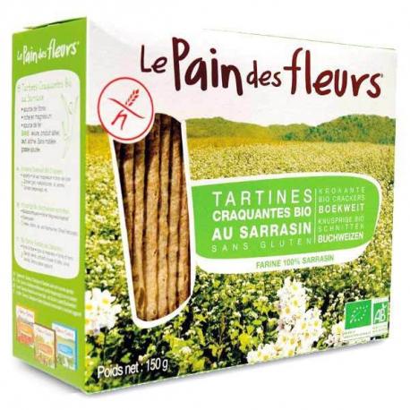PAIN DES FLEURS Tartines craquantes au sarrasin (bio) 150g