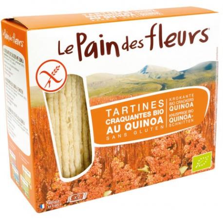 PAIN DES FLEURS Tartines craquantes au quinoa (bio) 150g
