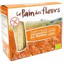 PAIN DES FLEURS - Tartines craquantes au quinoa (bio) 150g