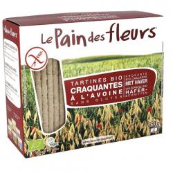 PAIN DES FLEURS Tartines craquantes à l'avoine (bio) 150g
