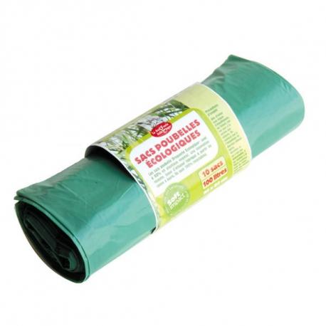 Eco-plastic vuilniszak van 100 liter