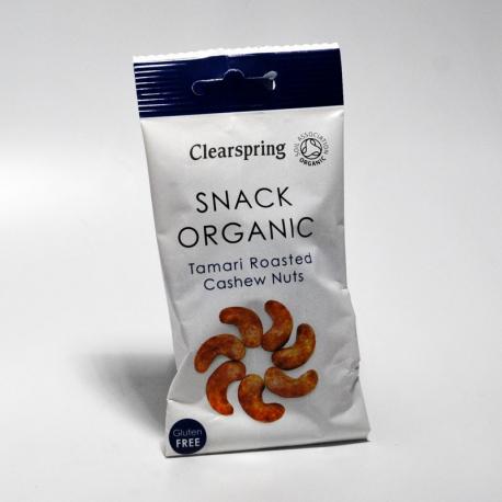 Cashewnoten geroosterd met Tamari 30g,Snacks en crackers