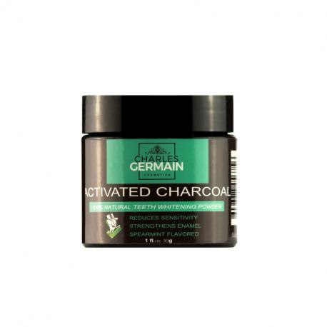 Blanchisseur de dents au charbon actif - Charles Germain