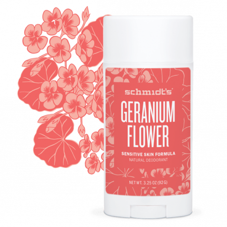 Déodorant naturel au géranium 92g - Schmidt's