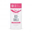 Natural Deodorant Stick Rose & Vanilla 75g- Schmidt's