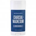 Natural Deodorant Stick Charcoal + Magnesium 92g - Schmidt's