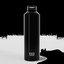 MonBento Steel Onyx - Bouteille isotherme couleur Noire