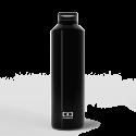 MonBento Steel Onyx - Zilver geïsoleerde fles