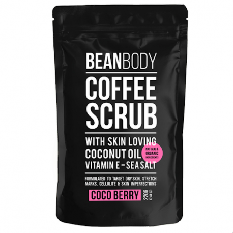 Gommage café coco berry 220g, Bean Body, Corps