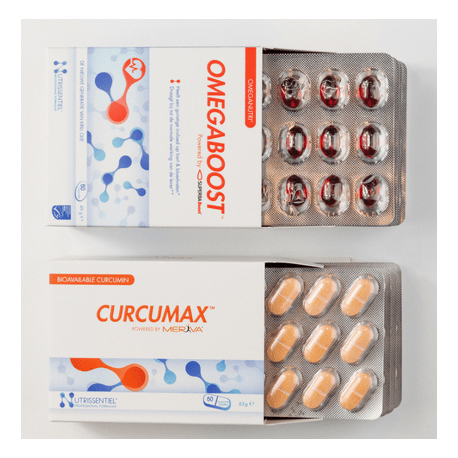 CURCUMAX Curcuma biodisponible (60gél. ) 500mg, Nutrissentiel,