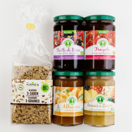 Confiture fruits des bois (sans sucre) 330g, PROBIOS, Confitures
