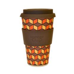 Bamboo - Cup  à base de fibre de bamboo couleur brun  400ml