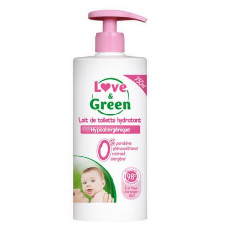 Love&Green - Lait nettoyant 750 ml