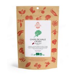 SolSemilla - Chips de Kale Crues au cacao cru & épices 35g