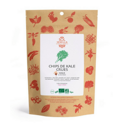 SolSemilla - chips de kale crues maca & moutarde