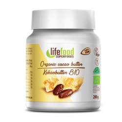 Raw and organic cocoa butter 200g