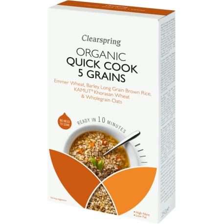 Quick Cook 5 grain mix 250g