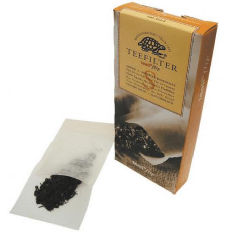 Boite de 100 pochettes filtre de thé - Ecodis