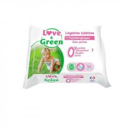 Love&Green - Lingettes toilette