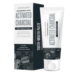 Dentifrice naturel au charbon actif et wondermint avec vitamines et extraits de plantes 133g - Schmidt's