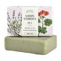 Savon Stories - Savon saponifié à froid à l'Argile verte Bio 110g