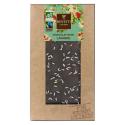 Dark organic chocolate Lavender flower 100g - BOVETTI