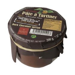 ORGANIC Chocolate Spread Hazelnut - Dark Chocolate 350g - BOVETTI