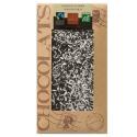 Dark organic chocolate grated coconut 100g - BOVETTI