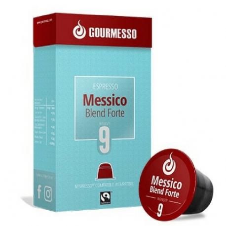 Café Capsules Messico Blend Forte X10, Gourmesso, Café