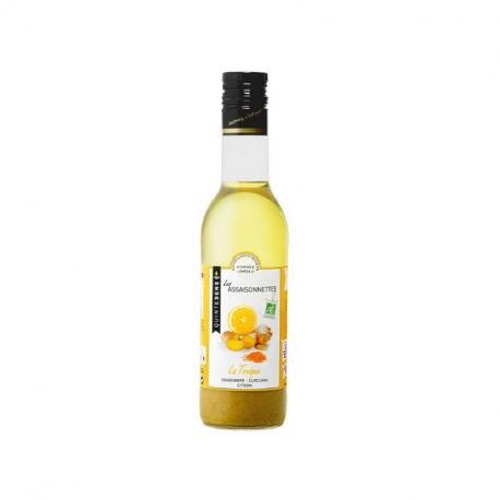 Quintesens - vinaigrette La Tonique (gingembre, curcuma, citron) 360ml bio