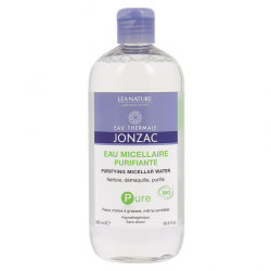 Jonzac Pure Eau micellaire purifiante 500ml - Bio