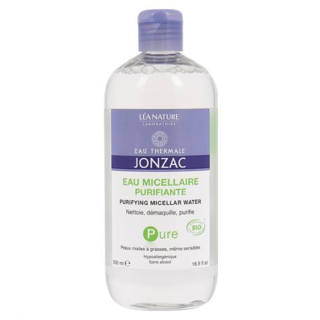 Jonzac Pure Purifying Micellar Water 500ml - Organic