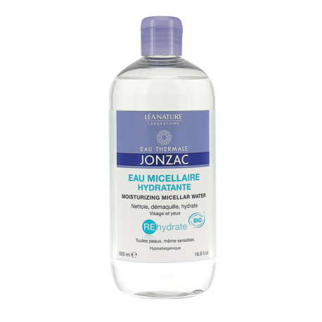 Jonzac Rehydrate Eau micellaire hydratante 500ml - Bio