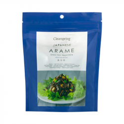 Arame, Algue marine séchée, clearspring, 50g