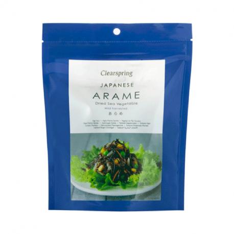 Arame, dried seaweed seaweed, clearspring, 50g