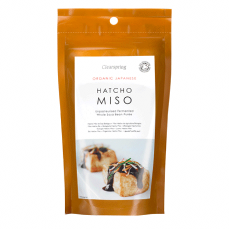 Unpasteurized Soy Miso - Fermented - Clearspring - Organic - 300g