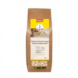 Flocons d'avoine gros - bio - vajra - 500g
