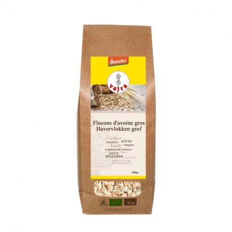 Oatmeal fat - organic - vajra - 500g