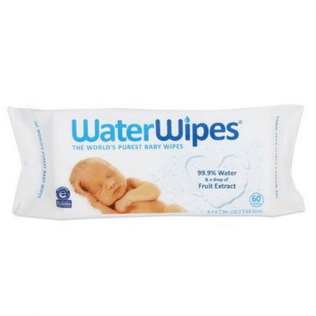 Waterwipes - Water Impregnated Wipes 60x