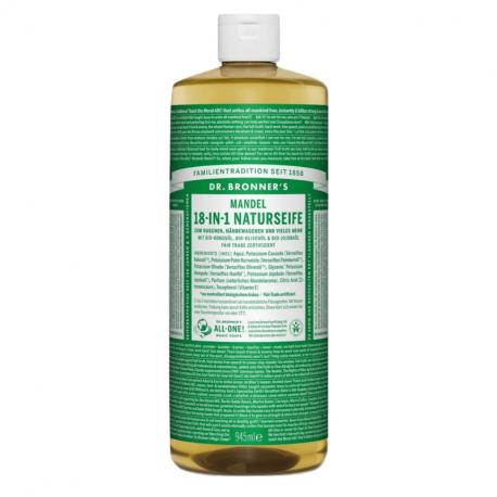 Dr Bronner's - Savon liquide Amande 945ml