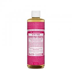 Dr Bronner's - Savon liquide rose  475ml