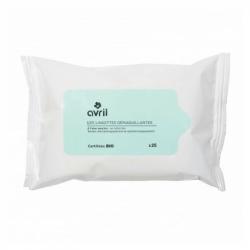 Avril - Organic Aloe Vera Cleansing Wipes x25