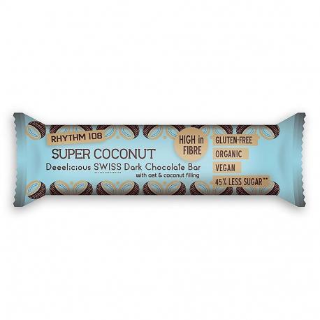 Rhythm 108 - Barre au chocolat noix de coco et avoine 35g