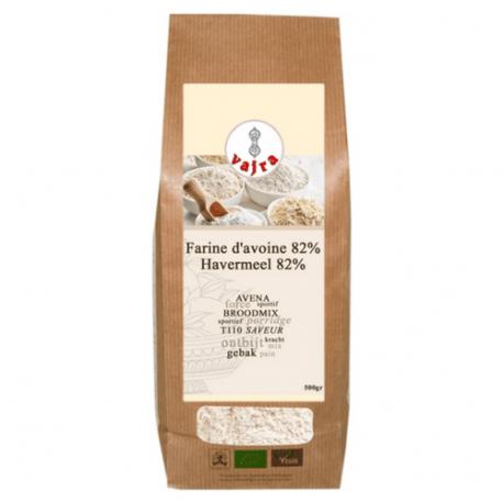 Farine d'avoine 82% (T110) 500g, VAJRA, Farines