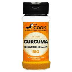 Curcuma poudre (biologique) 35g, COOK, Epices