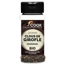 Clou de girofle en poudre (biologique) 45g, COOK, Epices