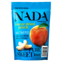 Nada - Freeze dried peach 18g